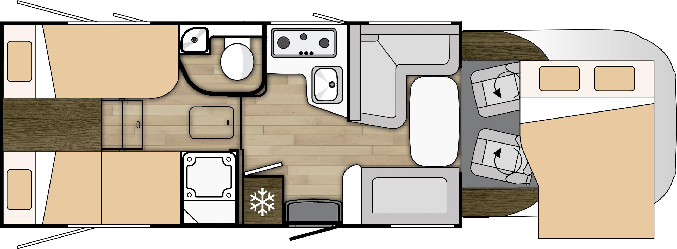 Plan kampera